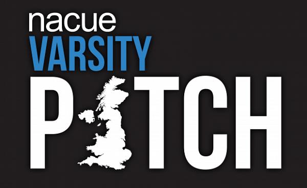 NACUE logo, Varsity pitch logo, ravi jay NACUE myMzone