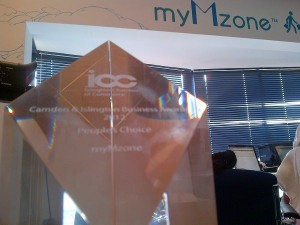 myMzone - Camden & Islington Business Awards 2012