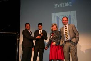myMzone, NACUE, TATA disruptive startup. NACUE Varsity pitch